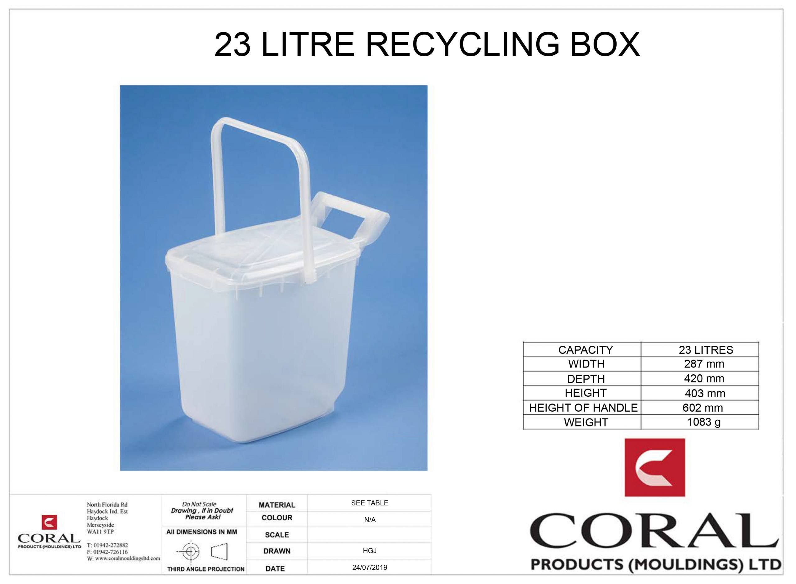 23 litre recycling box scaled