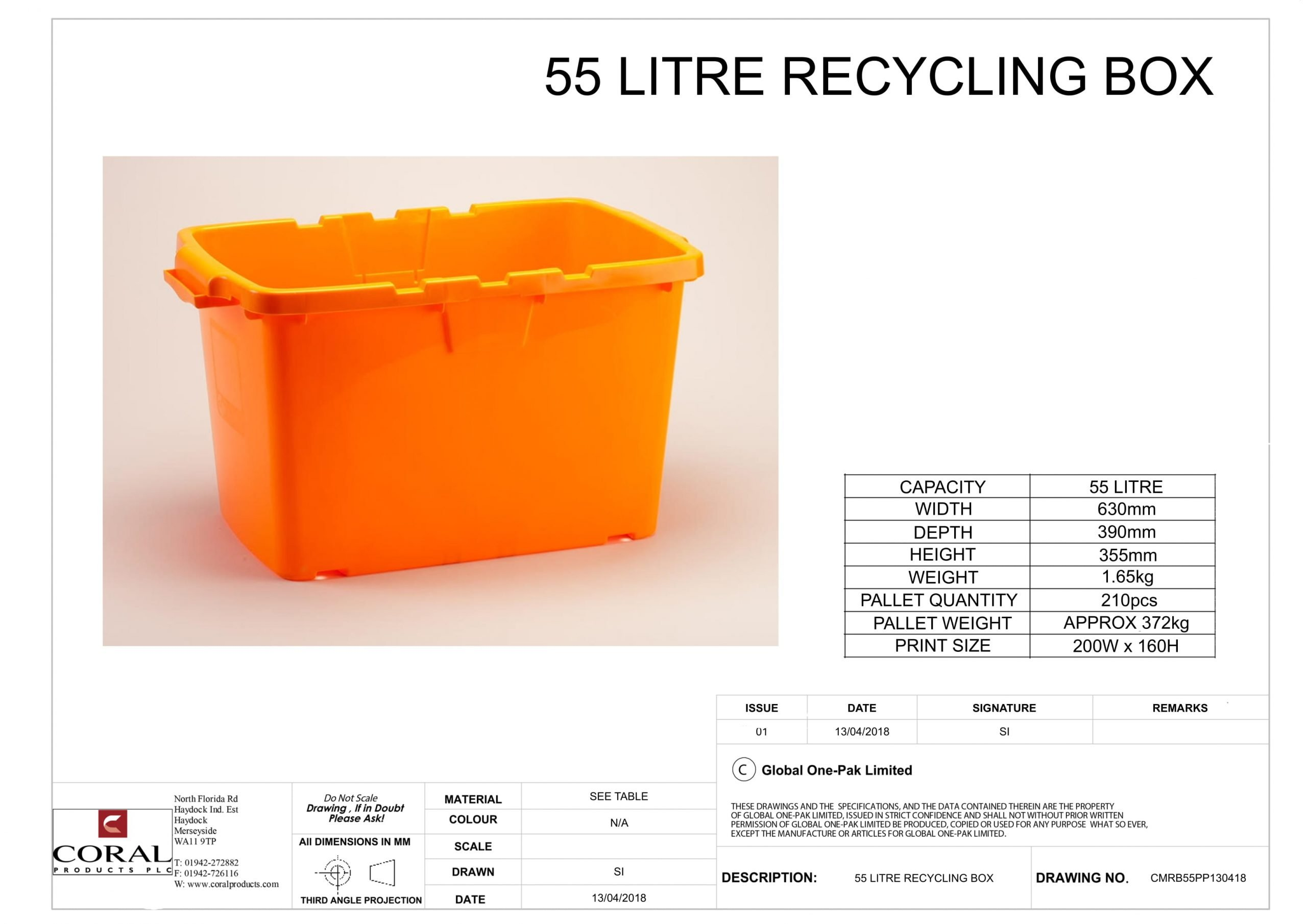 55 Litre Recycling Box Data Sheet 1 scaled